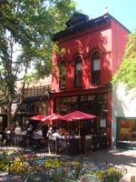 Exterior of The Red Onion